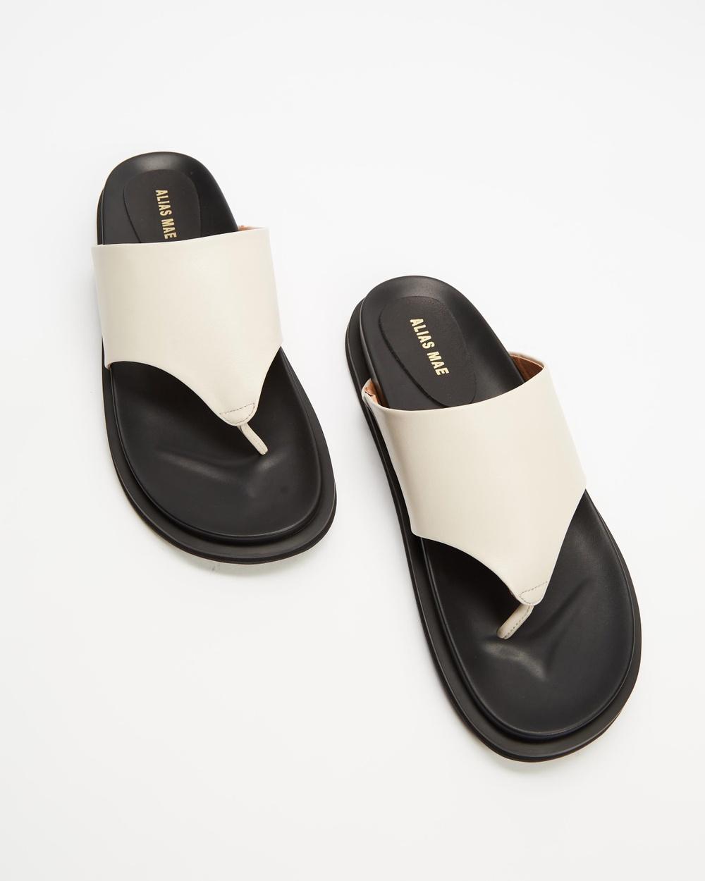 Alias Mae Sonda Sandals Bone Leather