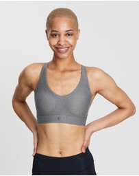 Under Armour - UA Vanish Mid Heathered Sports Bra