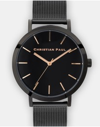 Christian Paul - Raw Mesh Collection 43 mm Watch