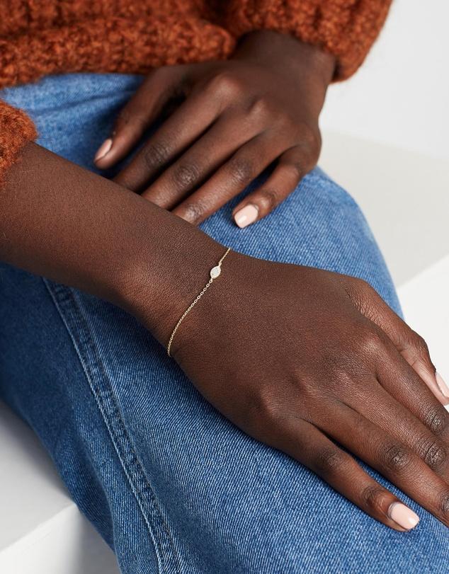 Women Eye of Protection Gold Bracelet