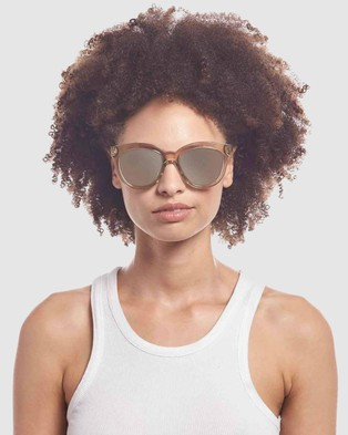 Le Specs Sustainable Resumption - Sunglasses (Stone)