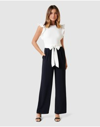 Forever New - Leonie Frill Sleeve Jumpsuit