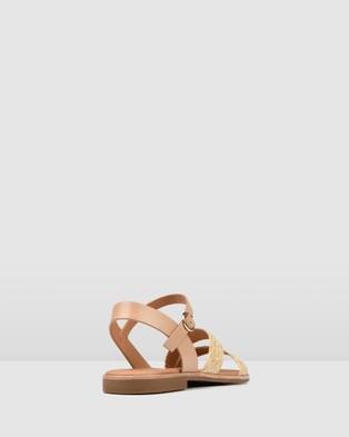 Jo Mercer Gypsy Flat Sandals - Sandals (Natural Raffia)
