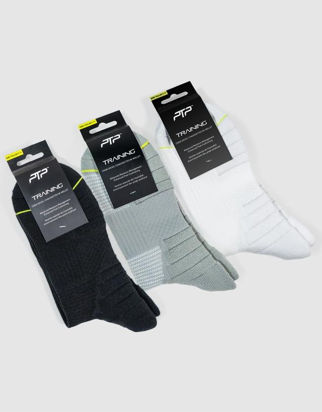 Women Training Crew Socks Combo 3 Pack
