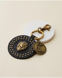 Camilla - Leather Lion Key Ring