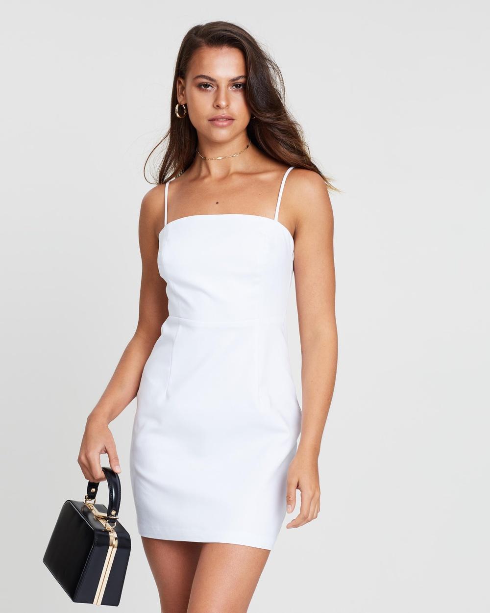 Photo of Dazie White Deep Sea Mini Dress - buy Dazie dresses on sale online