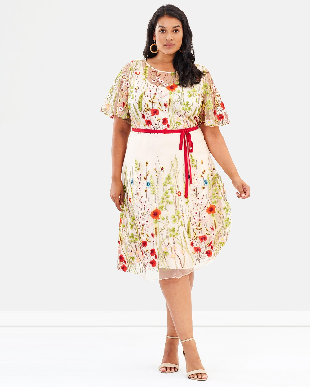Studio 8 Richmond Dress Dresses Pink Multi Richmond Dress