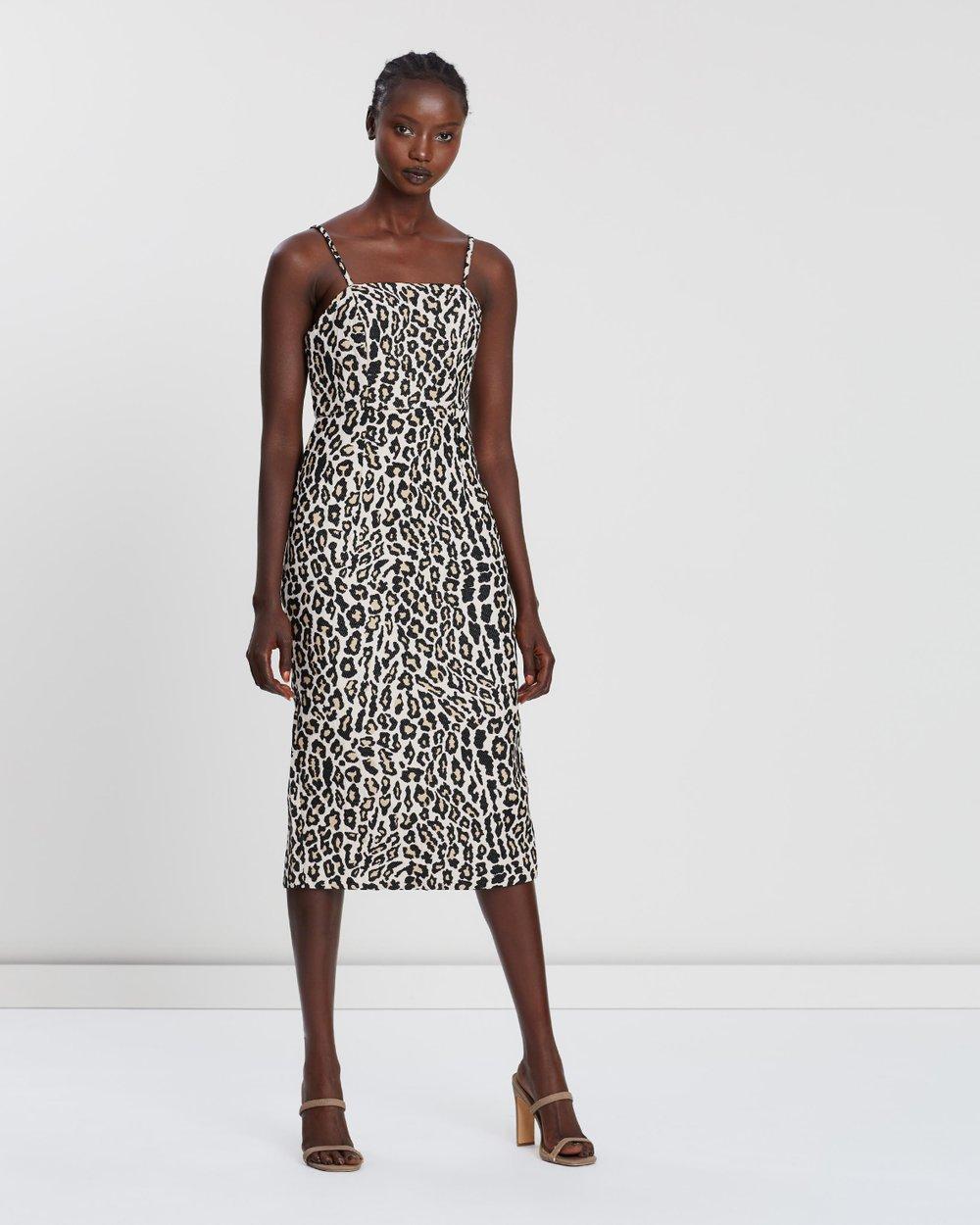 e5d61c8104d Ziggy Fitted Midi Dress by Shona Joy Online