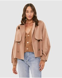 Jag - Holly Cropped Trench