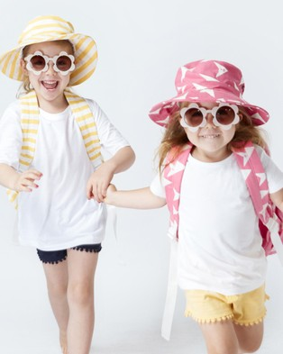 KID STOCK Sun Shader Hat - Hats (Pink)