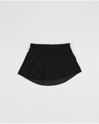 Flo Dancewear - Sparkle Mesh Flowy Skirt - Kids