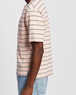 Everloom - SS Retro Stripe Tee T-Shirts & Singlets (Pink Multi)