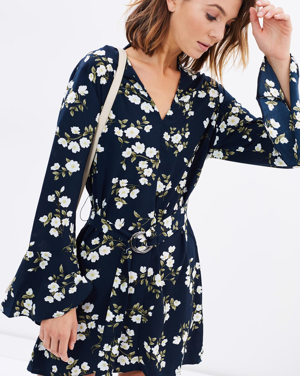 Women s fashion top 9 must haves in the wardrobe lulu rose - Gully Flared Sleeve Dress By Lulu Rose Online The Iconic Australia