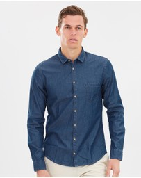 BOSS Orange - Erum Slim Fit Shirt