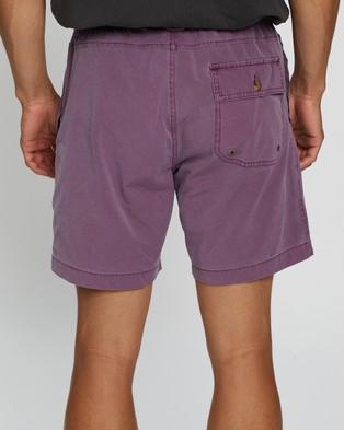 Deus Ex Machina Sandbar Solid Dye Shorts - Shorts (Berry Plum)