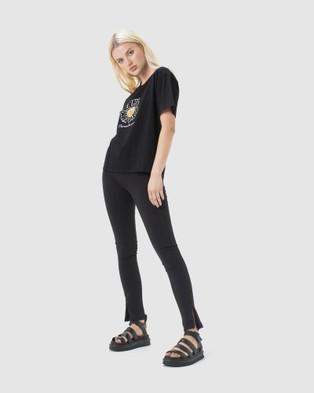Cools Club Paradise Sunday Tee - T-Shirts & Singlets (Black)