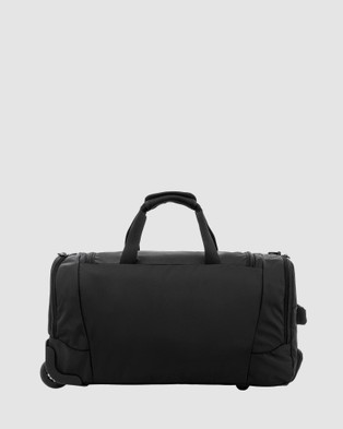 Samsonite Business Albi 55cm On Wheel Duffle Bag - Duffle Bags (Black & Grey)