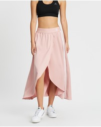 adidas Originals - Pleated Asymmetric Skirt