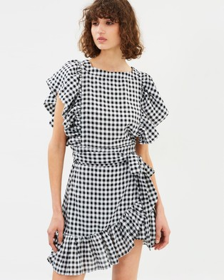 Hansen & Gretel – Elody Dress Black Check