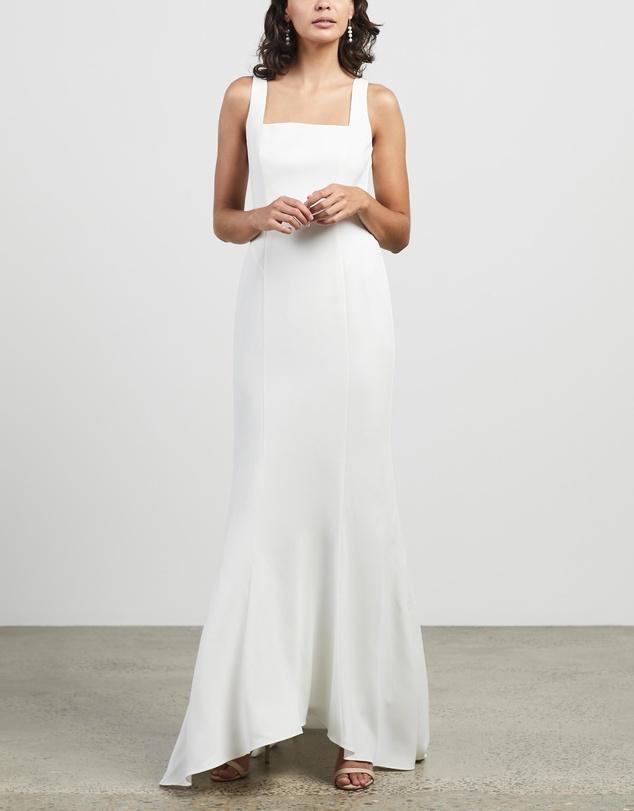 Women Mia Square Neck Wedding Dress