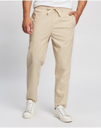 Staple Superior - Seeker Linen Blend Pull On Pants