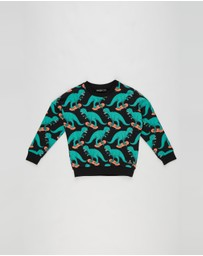 Rock Your Kid - Dino Skater Sweatshirt - Kids