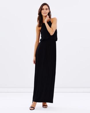 Atmos & Here – Brit Maxi Dress – Dresses (Black)