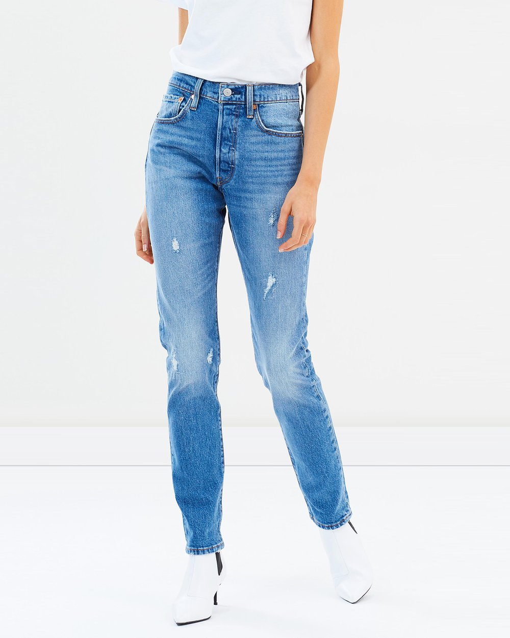 df468b11 501 Skinny Jeans by Levi's Online | THE ICONIC | Australia