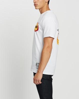 Mitchell & Ness Retro Repeat SS Tee - Short Sleeve T-Shirts (Rockets White)