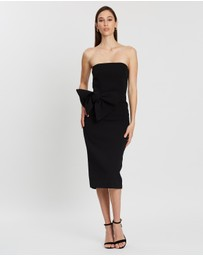 BY JOHNNY. - Bow Tie Strapless Dress