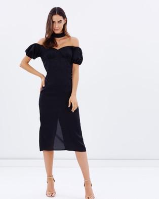 Lioness – Casablanca Midi Dress Black