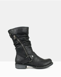 Betts - Carnage Military Boots