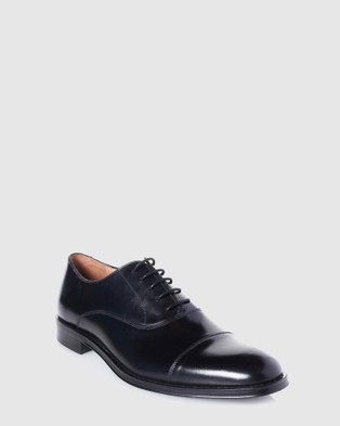 3 Wise Men The Clapton - Dress Shoes (Black)