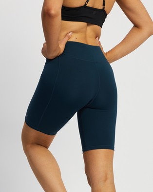 Sweaty Betty All Day Contour Shorts - 1/2 Tights (Beetle Blue)
