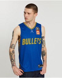 First Ever - NBL - Brisbane Bullets 19/20 Authentic Home Jersey