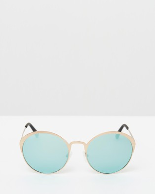 Hawkers Co Gold Blue Chrome FAIRFAX - Sunglasses (Blue)