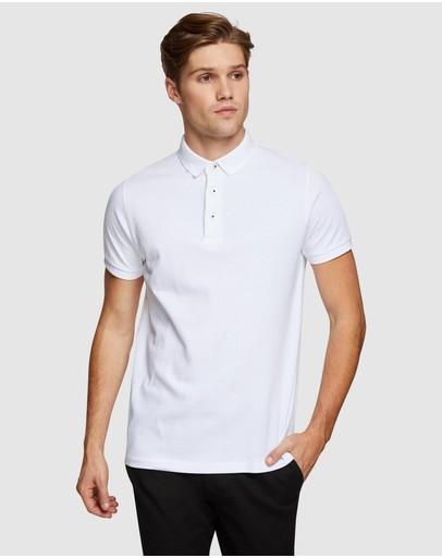 Oxford Austin Polo White