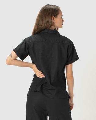 Cools Club SS Shirt - Tops (Black)