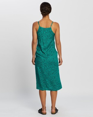 All About Eve Rachel Slip Midi Dress - Dresses (PRINT)