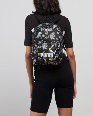 Puma Core Seasonal Backpack - Backpacks (Puma Black & AOP)