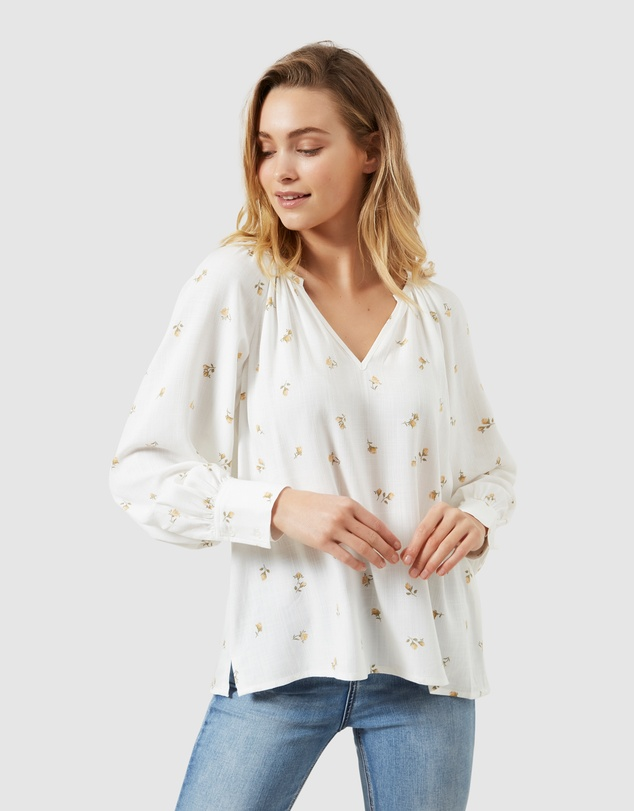 French Connection - Relaxed Floral Shirt