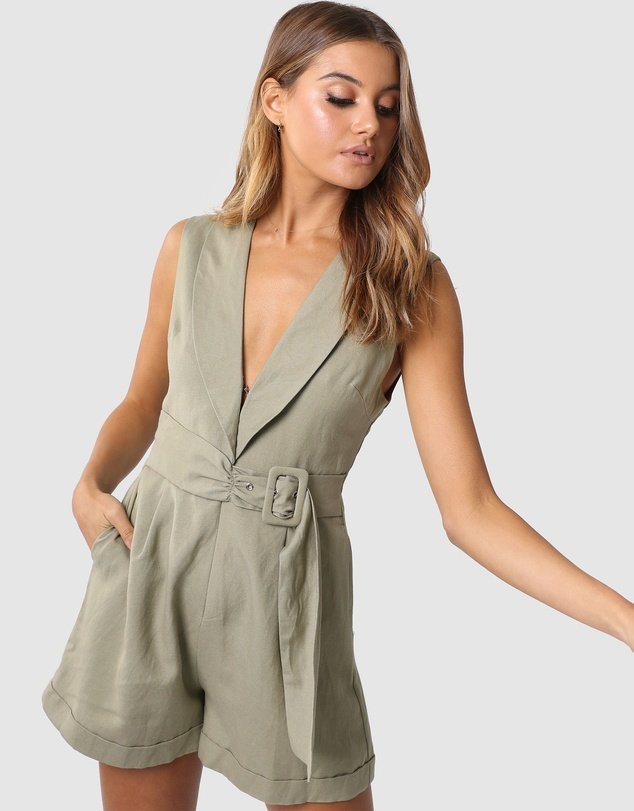 Madison The Label - Gia Playsuit