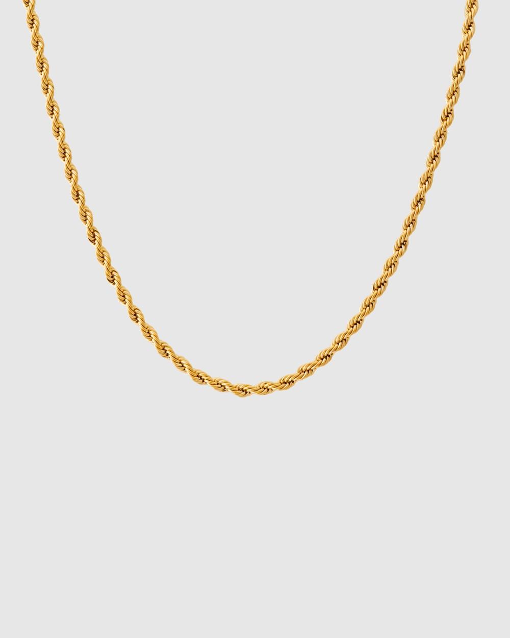 ALIX YANG Mila Chain Jewellery Gold