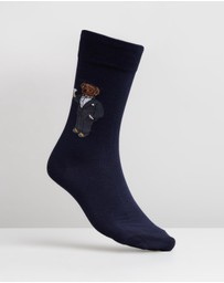 Polo Ralph Lauren - Single Tuxedo Bear Socks