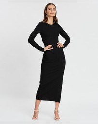 Bec + Bridge - Noir Et Blanc LS Dress