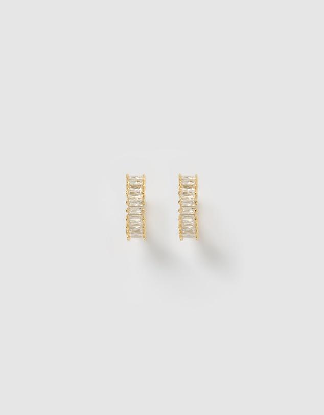 Women Celine Huggie Earrings