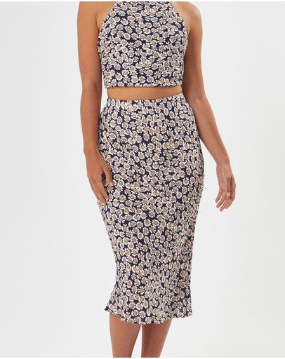 Charlie Holiday Stellar Skirt Daisy