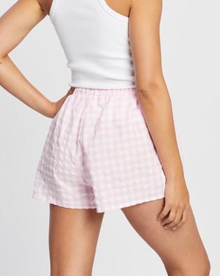 Endless Beach Bum Shorts - Shorts (Pink Gingham)