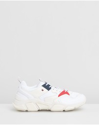 Tommy Hilfiger - Chunky Mixed Trainers - Women's