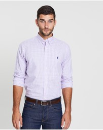 Long Sleeve Poplin Sport Shirt
